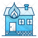 Fire House Home Icon