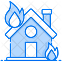 Fire Insurance Explosion Insurance Home Insurance Icon