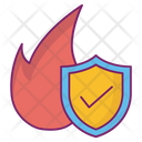 Fire Safety Protection Icon