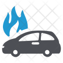 Vehicle Flame Fire Icon