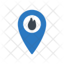 Location Fire Map Icon
