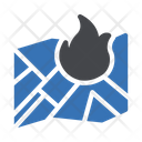 Fire Location Fire Nearby Icon
