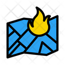 Fire Location Map Icon