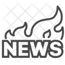 Fire News Latest News Important News Icon