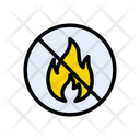 Fire Notallowed Flame Icon