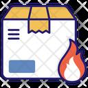 Fire Parcel Icon