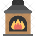 Fireplace Hearth Chimney Icon