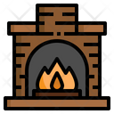 Fire Place Chimney Icon