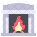 Fire Place Fire Fireplace Icon