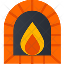 Fire Place Flame Fire Icon