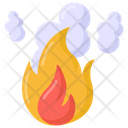 Fire Pollution Icon
