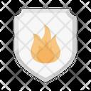 Fire Shield Burn Icon