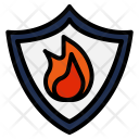 Protection Heat Flame Icon
