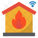 Fire Protection Fire Security Smarthome Icon