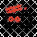 Fire Rescue Car Fire Car Car Icon