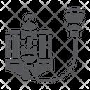 Fire Respirator Fireman Icon
