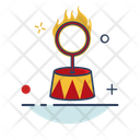 Fire Ring Circus Icon