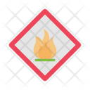 Fire Security Danger Icon
