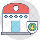Fire Security Burning Icon