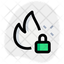 Fire Security Icon