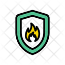 Fire Shield Icon