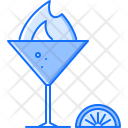 Fire Wineglass Glass Icon