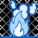 Fire Smoke Icon