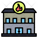 Fire Station Location Fire Icon