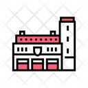 Fire Department Building Icon