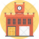 Fire Station Extinguisher Icon