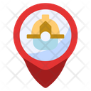 Fire Station Location Fire Extinguishing Icon
