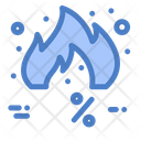 Friday Discount Hot Icon