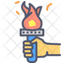 Fire God Fire Candel Icon
