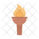 Torch Fire Light Icon