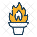 Fire Torch Torch Fire Icon