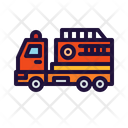 Fire Truck Fire Fighter Emergency Vehicle Icon