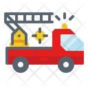 Fire Truck Emergency Icon