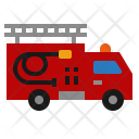 Truck Emergency Fireman Icon