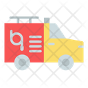 Fire Truck Fire Brigade Firefighter Icon