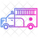 Fire Truck Delivery Icon