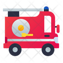 Button Fire Truck Emergency Icon