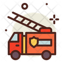Fire Truck Fire Vechile Vehicle Icon