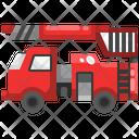 Fire Truck Fire Brigade Fire Engine Icon