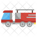 Fire Truck Vehicle Firefighter Car Icon
