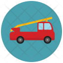 Fire Truck Freighter Icon