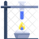 Fire Under Flask Icon