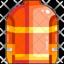 Fire Vest Jacket Vest Icon