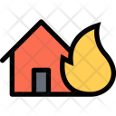 Fire Weather Insurance Icon