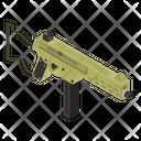 Gun Weapon Machine Gun Icon