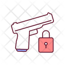 Firearm Security Icon